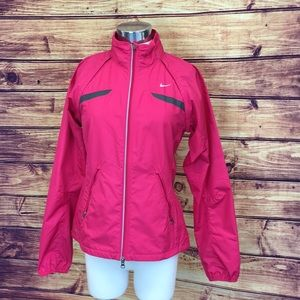 Nike Fit Storm Rain Running Jacket & Vest in Pink